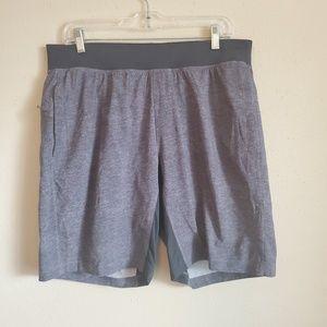 Lululemon Mens Heather Gray Shorts Size XL